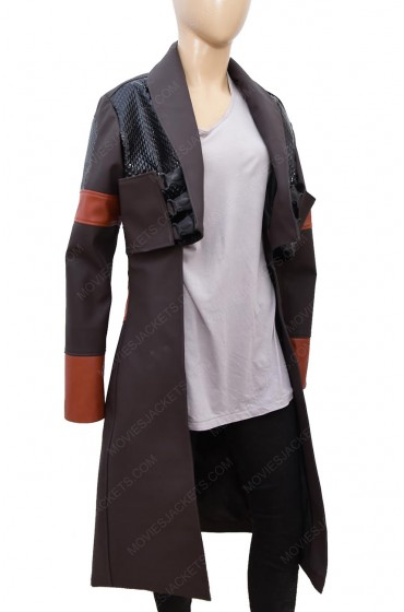 "Guardians of the Galaxy Vol. 2 Gamora Coat ""Free T-Shirt"""